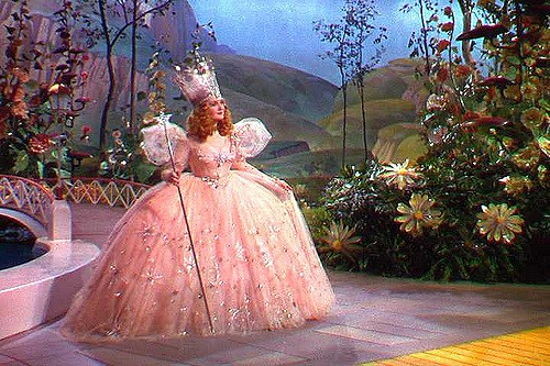 Glinda the Good Witch from the film The Wizard of Oz